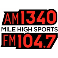 Logo of radio station KDCO Mile High Sports 1340 & 104.7 FM