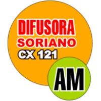 Logo of radio station Difusora Soriano CX 121 AM
