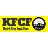 Logo de la radio KFCF Free Speech Radio