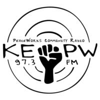 Logo of radio station KEPW 97.3