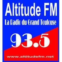 Logo of radio station Altitude FM 93.5