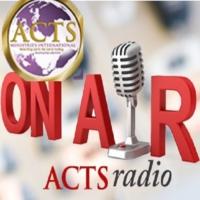Logo of radio station Acts Radio