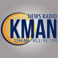 Logo of radio station KMAN 1350 AM