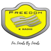 Logo of radio station Freedom K Radio