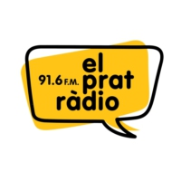 Logo of radio station El Prat Ràdio 91.6 FM