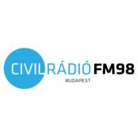 Logo of radio station Civil Rádió FM98