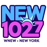 Logo de la radio WNEW-FM NEW 102.7 FM