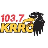 Logo of radio station 103.7 KRRO