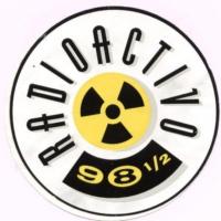 Logo of radio station Radioactivo 98.5 FM