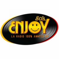 Logo of radio station Enjoy 80's