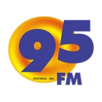 Logo of radio station 95 FM