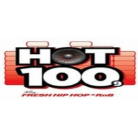 Logo de la radio HOT 100.9