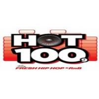 Logo de la radio HOT 100.9