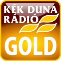 Logo of radio station KÉK DUNA - Gold