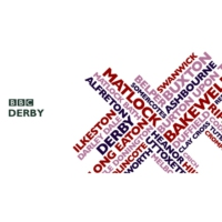 Logo of radio station BBC Radio Derby