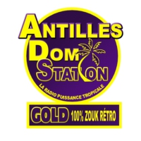 Logo de la radio Antilles Dom Station Gold