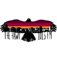Logo of radio station CIOI-FM 101.5 The Hawk