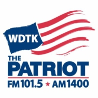 Logo de la radio WDTK The Patriot 1400