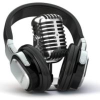 Logo of radio station ZotRadio