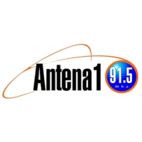 Logo of radio station Antena 1 98.5 Mhz
