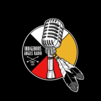Logo de la radio Indigenous Angels Radio