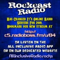 Logo of radio station Rockcast Radio