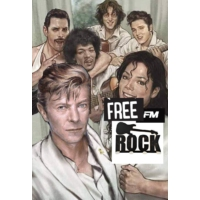 Logo of radio station Free FM Rock