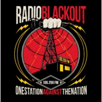 Logo of radio station Radio Blackout