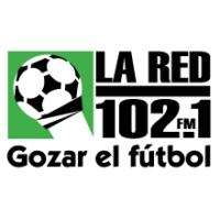 Logo of radio station La Red 102.1