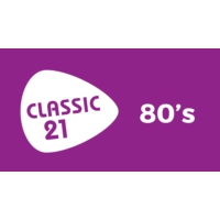 Logo of radio station Classic 21 - 80's (RTBF)