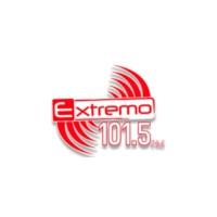 Logo of radio station XHDB Extremo 101.5 FM
