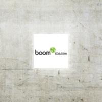 Logo of radio station CFEI Boom 106.5 FM