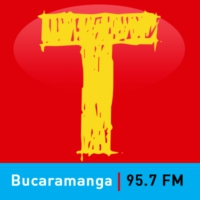 Logo of radio station Tropicana Bucaramanga