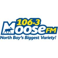 Logo of radio station CFXN-FM Moose 106.3
