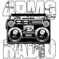 Logo of radio station 4PMG Radio