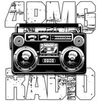 Logo de la radio 4PMG Radio