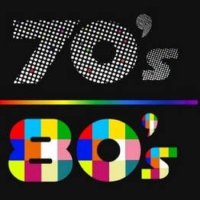 Logo of radio station Hits 70s 80s