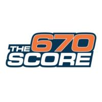 Logo de la radio WSCR 670 The Score