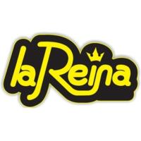 Logo of radio station La Reina 95.5 FM