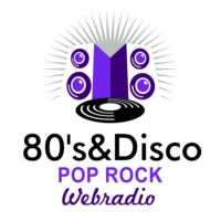 Logo of radio station 80's & Disco Pop Rock