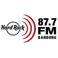 Logo de la radio 87.7 HARDROCK FM BANDUNG