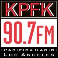 Logo de la radio KPFK 90.7 FM