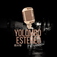 Logo of radio station Yolombó Estéreo 89.4