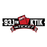 Logo de la radio 1350 AM KTIK The Ticket