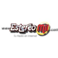 Logo of radio station Estereo Mil
