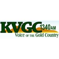 Logo of radio station KVGC Hometown Radio