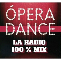 Logo of radio station opera dance