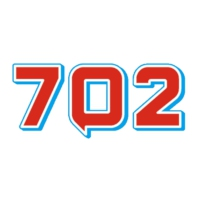Logo of radio station 702