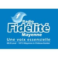 Logo of radio station Fidélité Mayenne