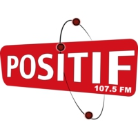 Logo of radio station Positif Radio 107.5 FM